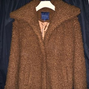American Eagle teddy pea coat